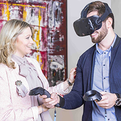 Virtual Reality beim Einrichten!